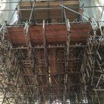 Indoor Scaffolding for church restoration